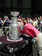 Claudia Hine Kissing the Cup