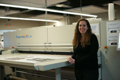 Emily Williamson Screen Truepress Jet2500UV