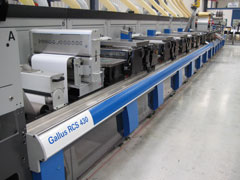 Gallus RCS 430 press